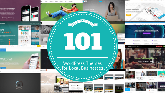 101 WordPress Themes For Local Businesses